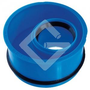 SS-Innenreduzierstück, blau