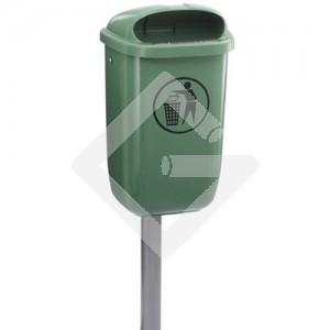 Abfallbehälter aus Polyäthylen 50 Liter