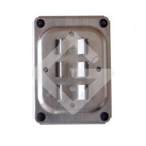 Profilhalteplatte Aluminium
