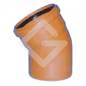 PVC-Hauskanal-Bogen