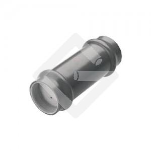 PVC-Überschiebmuffe NW 100mm