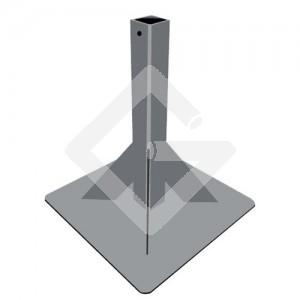 Standbodenhülse 400/400 mm